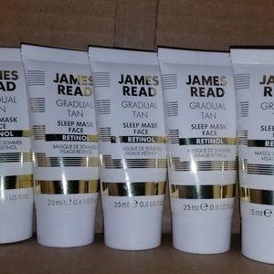 5x James Read gradual tan sleep mask w/retinol new